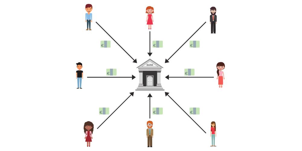 Bankennetzwerk Bitcoin