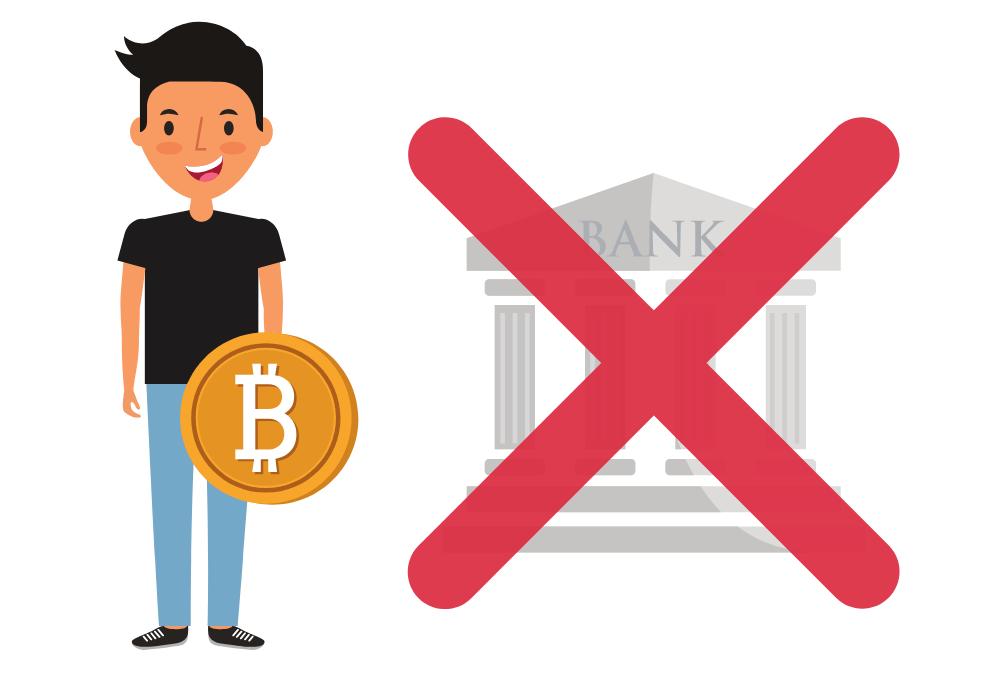 Bitcoin eigene Bank